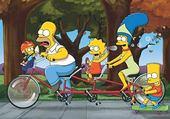 Jeu puzzle Simpsons