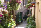 Puzzle en ligne une ruelle en Ombrie
