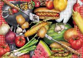 Jeux de puzzle : jolis légumes