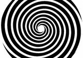 spirale noir et blanche