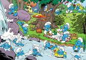 Puzzle Puzzle schtroumpfs 02