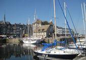 Puzzle Le port d'Honfleur