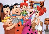 Jeu puzzle Famille Pierrafeu
