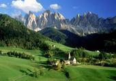 Puzzles Paysage montagneux