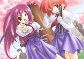 Jeux de puzzle : Manga fille