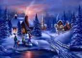 Puzzle en ligne Noel