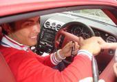Puzzle c.ronaldo avec sa voiture