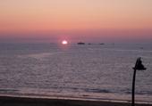 Puzzle coucher de soleil à st malo
