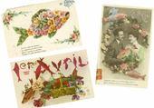 Puzzle gratuit cartes postales 1er avril