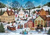 Puzzle Puzzle en ligne hiver