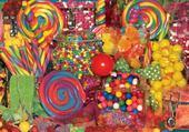 Jeu puzzle bonbons