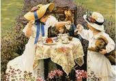 Jeux de puzzle : le thé