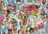 Puzzle visages du monde