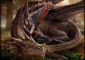 Jeux de puzzle : Ange et dragon