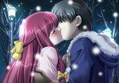 Jeu puzzle kiss manga