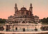 Jeux de puzzle : Palais du  Trocadero, Paris  1900