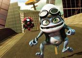 Puzzle en ligne Crazy frog