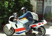 Puzzle jean-marc et sa moto