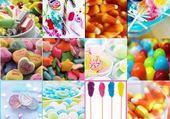 Jeux de puzzle : bonbons