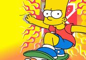 Puzzle gratuit Simpson