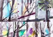 Puzzle graphisme arboricole