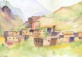 Puzzle Jeu puzzle ourika village