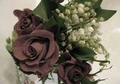 Puzzle en ligne roses et muguet