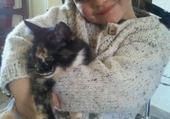 Puzzle mon chat adoré et moi