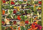 Puzzle Jeu puzzle tous les légumes