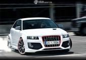 Puzzle Audi RS3 drift
