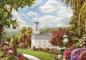 Puzzles petite église