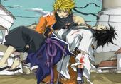 Jeu puzzle naruto et sasuke
