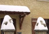 Puzzles aigles sous la neige