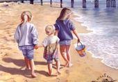 Puzzle a la plage