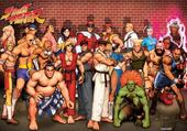 Puzzle street fighter