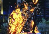 Puzzle ghost rider