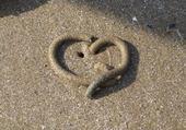 Puzzle gratuit Coeur de sable
