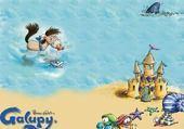 Galupy à la mer