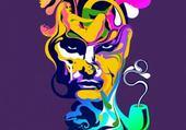 Puzzle king multicolor