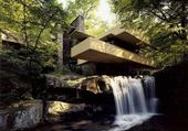 Puzzle falling water