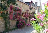 Puzzle gratuit maison fleuri