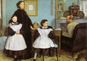 Jeux de puzzle :  La famille Bellelli