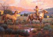 Jeux de puzzle : cowboy