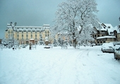 Jeu puzzle Cabourg sous la neige