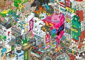 Jeux de puzzle : ville