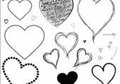 Jeux de puzzle : coeur