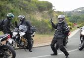 Puzzle corps de motard