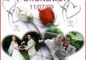 Puzzle le mariage de belinda et julien