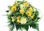 Puzzle bouquet jaune