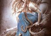 Puzzle Elfe-fée au serpent